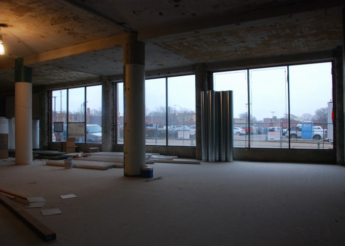 First Floor Retail Space